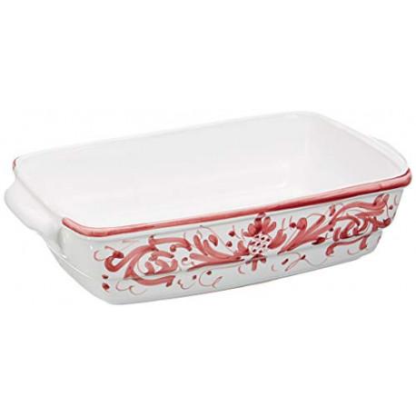 Ceramiche Siciliane Ruggeri Baking tray (portion) turquoiseg