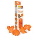Scrap Cooking Halloween Plunger Cookie Cutters Orange 2034
