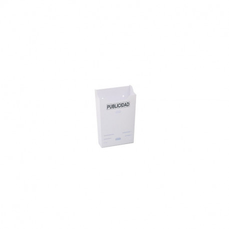 BTV Tray Advertising Vertical White 00153