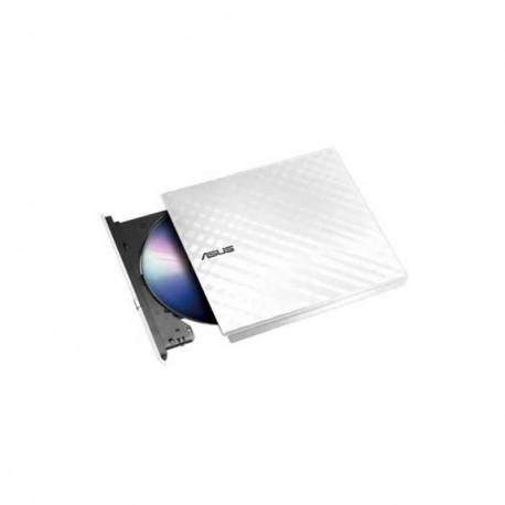 ASUS Lite External 8X DVD/Burner Drive +/-RW White SDRW-08D2S-U