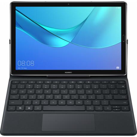 Amork Huawei M5 Tablethoes met Toetsenbord Zwart QWERTY US 4696357