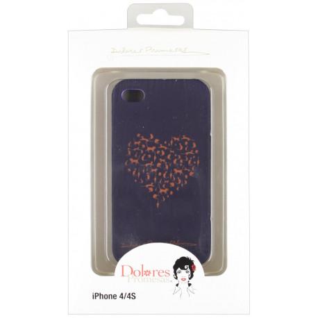 Dolores Promesas Smartphone case Backshell heart iPhone 4G/4S DPTPU004