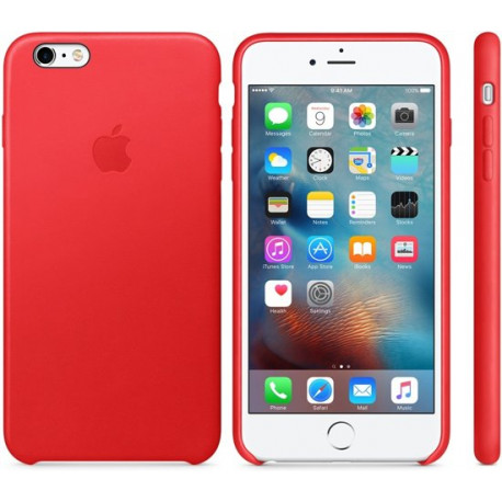 APPLE iPhone 6S Plus Leather Case Red MKXG2ZM/A
