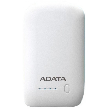 ADATA PowerBank 10.050mAh White AP10050-DUSB-5V-CWH