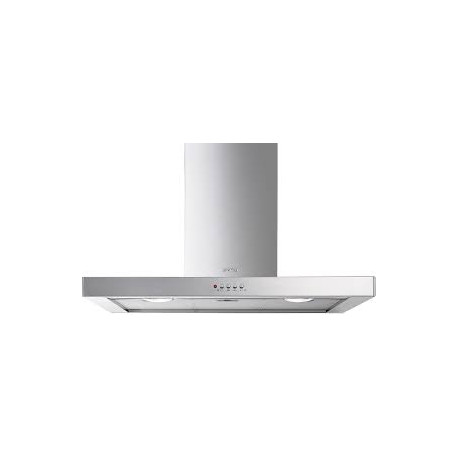 SMEG Ceiling recessed Stainless steel extractor hood 90 cm KSE90XSM3