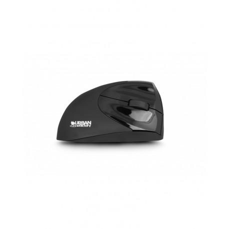 URBAN FACTORY Drahtlose Ergo-Mäuse für Rechtshänder EMR20UF-V2