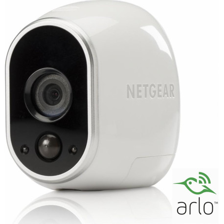 NETGEAR Arlo HD Security Camera 1280x720 Wi-Fi 4 VMC3030-100EUS
