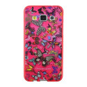 Christian Lacroix Telefoonhoesje voor Samsung Galaxy A3 Pink Butterfly Design CLBPCOVA3P