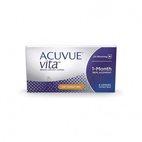 Acuvue Contact lines Vita for Astigmatism Monatslinsen weich 6 STüCK 16159195