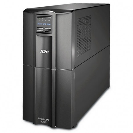 APC Smart-UPS 2200VA LCD 230V UPS with 2,2KVA capacity SMT2200IC