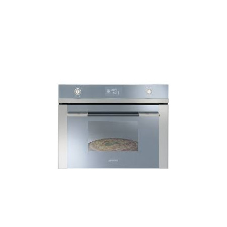 SMEG pyrolys Pizza Oven 45 cm Glass Stainless Steel linea SFP4120PZ