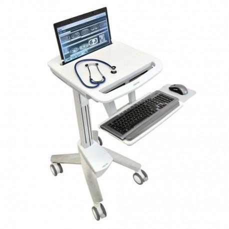ERGOTRON StyleView emr Laptop Cart SV40 NB Non-Power SV40-6100-0