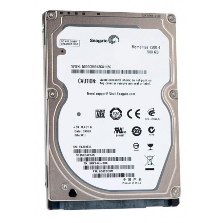 SEAGATE Hard disc Momentus 7200.4 500GB 9HV144-022