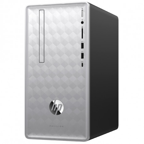 HP Desktop PC Pavilion 590-P0012NF I3-8100 4G 1TB W10 4JQ48EA#ABF