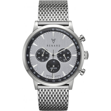 Renard Grande Chrono Watch 40 mm RC402SS13MSS