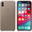 APPLE iPhone XS Max Leather Back Cover Taupe MRWR2ZM/A