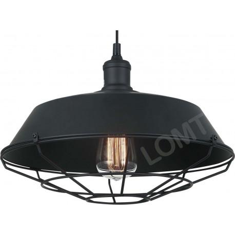 LOMT Black Rustic Farmhouse Ceiling Light 30-108-219