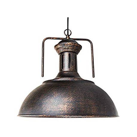 LOMT Black Farmhouse Ceiling Light 30-108-221B