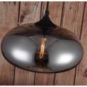 LOMT Vintage Smokey Grey Torus Glasschirm Pendelleuchte 30-108-225A