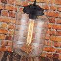 LOMT Water Drop Industrial Glass Pendant Light 30-108-227