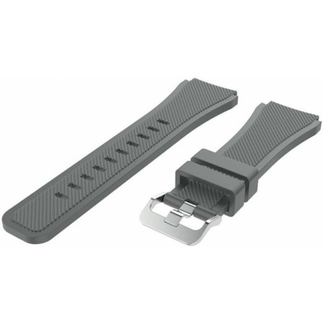 Just in case Samsung Galaxy watch 46mm Silicone Strap Gray
