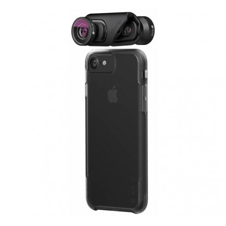 OLLOCLIP Core Lens Set + 2 Hüllen für iPhone 7/8 DE 7/8 Plus