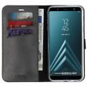 VALENTA Booklet Gel Skin Samsung Galaxy A6 Plus (2018) Book Case Black 582230