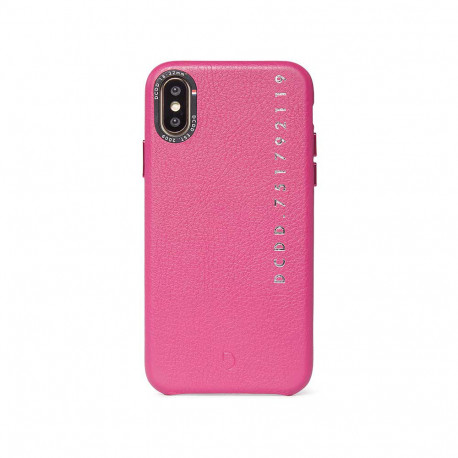 Decoded Leather Back Cover Apple iPhone X/XS Pink D9IPO58BC4FA
