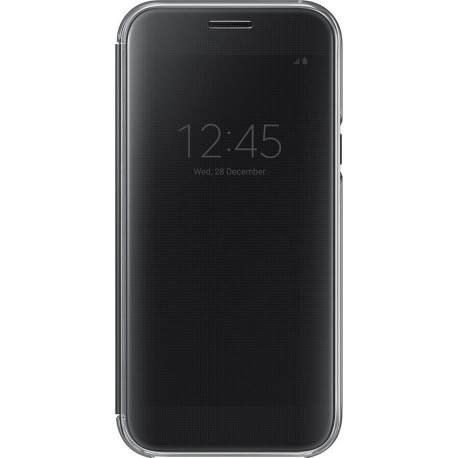 SAMSUNG Galaxy A5 (2017) Clear View Cover Black EF-ZA520CBEGWW