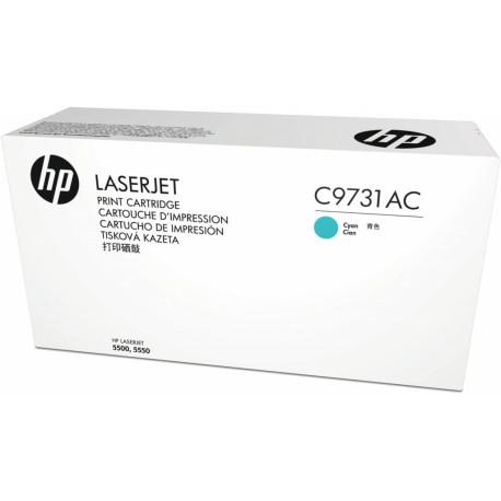 HP Toner Cartridge Cyan 12000 pages C9731AC