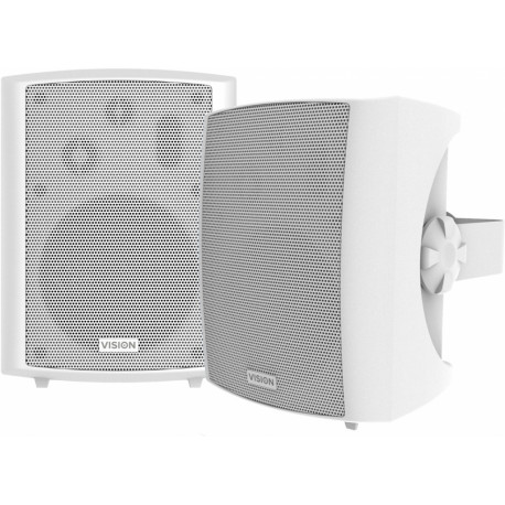 VISION Pair Wall Speakers White SP-1800