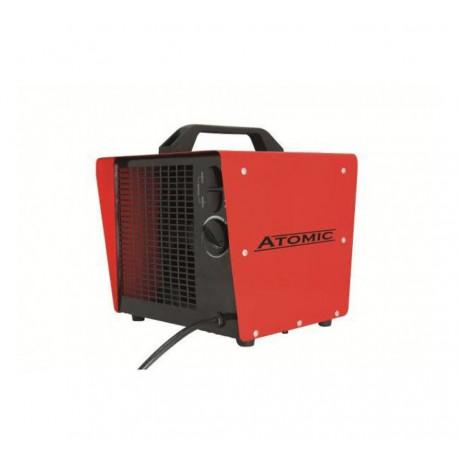 Atomic keramische kachel incl thermostaat 2000/3000W C3000