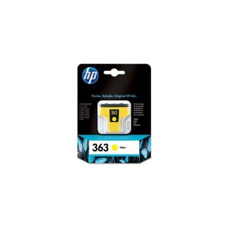 HP 363 inkt Cartrdige geel 6ml C8773EE#301
