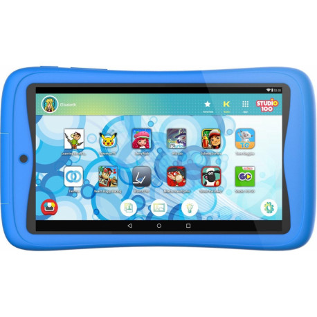 KURIO Tab Connect Studio 100 children's tablet 16GB Blue C18174NL