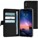 AZURI Wallet Magneet Xiaomi Redmi Note 6 Pro Book Case Zwart AZ-WALCLRXMRDN6P-BLK