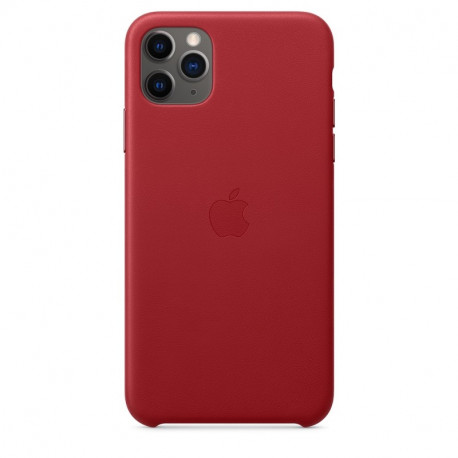 APPLE iPhone 11 Pro Max Leather Back Cover Rood MX0F2ZM/A