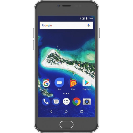 """General Mobile GM6 Gray Smartphone Android 8.0,32 Gb 5.0"""" CTGM6DSG01"""