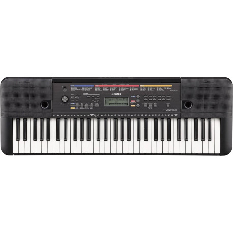 YAMAHA Keyboard Black incl PSU PSR-E263