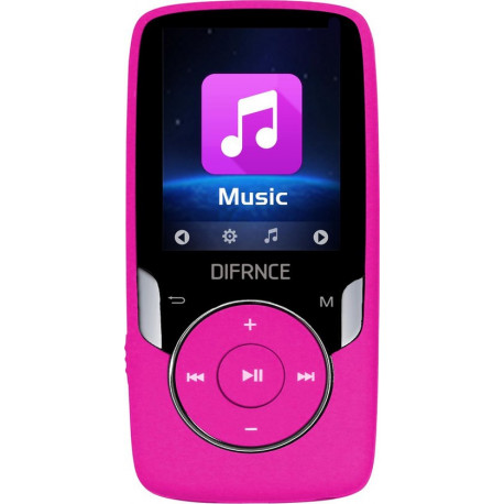 Difrnce bluetooth MP4 player X4 Gb MP4 PLAYER pink MP-1818