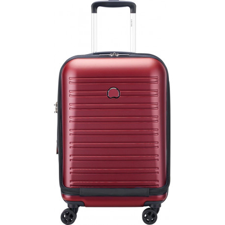 Delsey Reiskoffer Segur 2.0 Business Front Pocket Spinner 55cm Red 00205880204