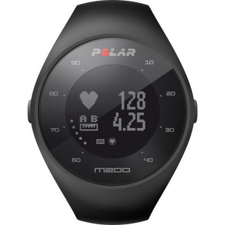 Polar M200 Running watch GPS Black 47 mm 90061201