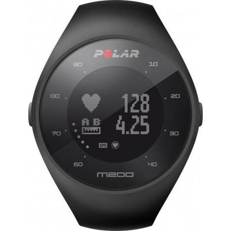 Polar M200 Hardloophorloge GPS Zwart 47 mm 90061201