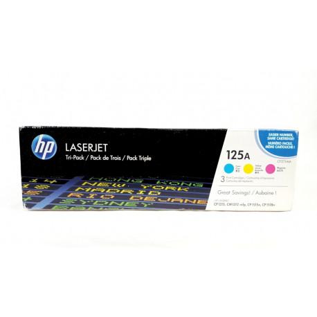 HP 125A Color Tri-Pack CF373AM