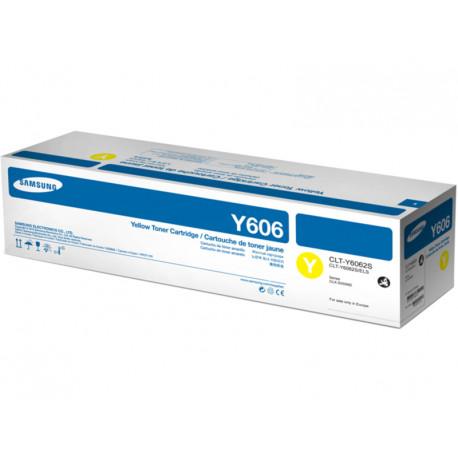SAMSUNG CLT-Y6062S Yellow toner SS706A