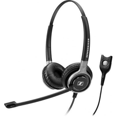 SENNHEISER Headphones Century SC 662 dect Binaural Headband Black PACK1A-II