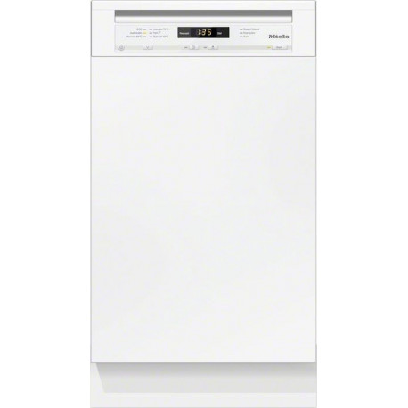 MIELE narrow built-in dishwasher 46 DB EN semi-integrated G 4700 SCi BRWS
