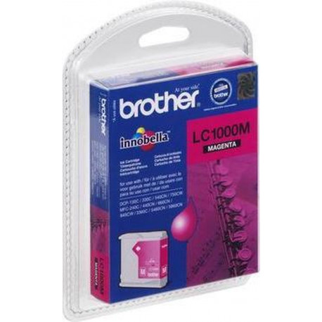 BROTHER Ink Cart/magenta MFC-210C 410CN blister LC1000MBP