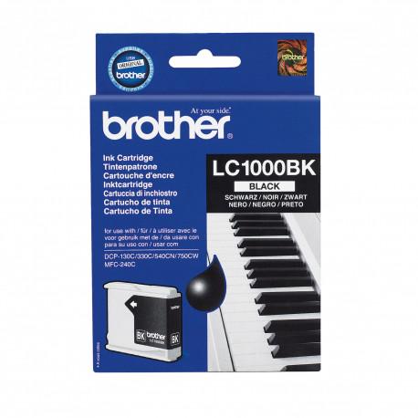 BROTHER Ink Cart/black MFC-210C 410CN blister LC1000BKBP