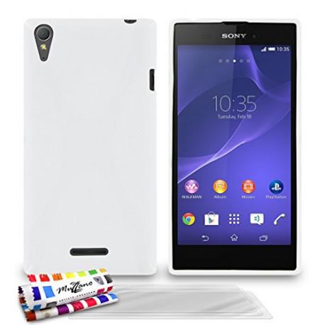 Muzzano Le x Premium Flexible Shell Case Sony Xperia T3 white F840862