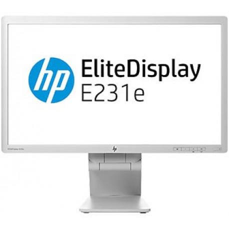 "HP Monitor HP EliteDesk E231E (G7D45AA) Wit 23"" 1920x1080 (Full HD) 764839-001"
